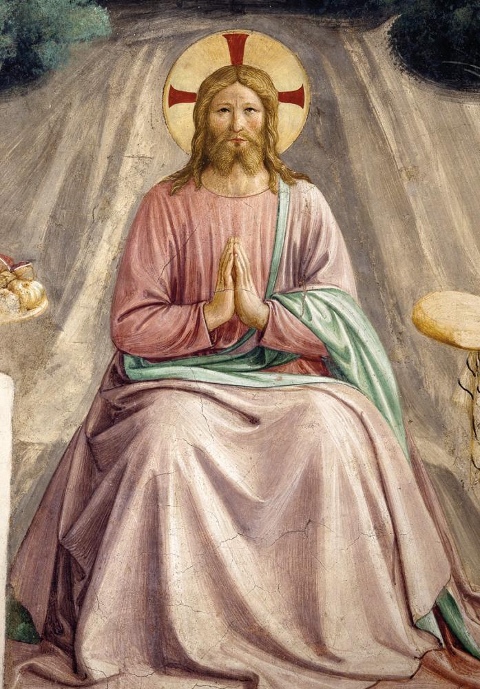 Tentazioni di Cristo, del Beato Angelico.