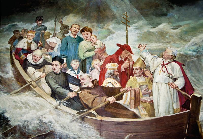 Barca della Santa Chiesa