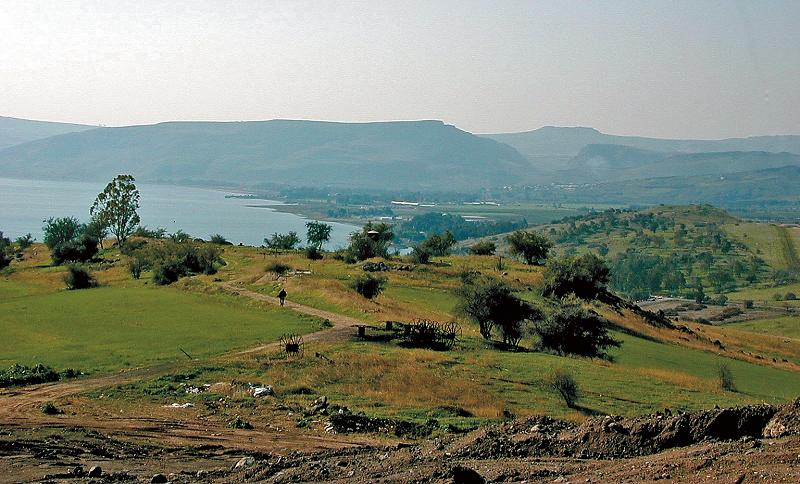 Mare della Galilea visto dal Monte delle Beatitudini