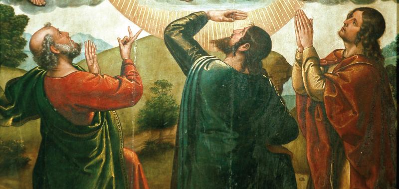 Trasfigurazione di Gesù (particolare)