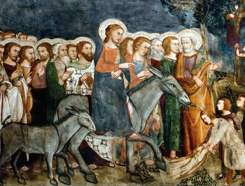 Entrata gloriosa a Gerusalemme
