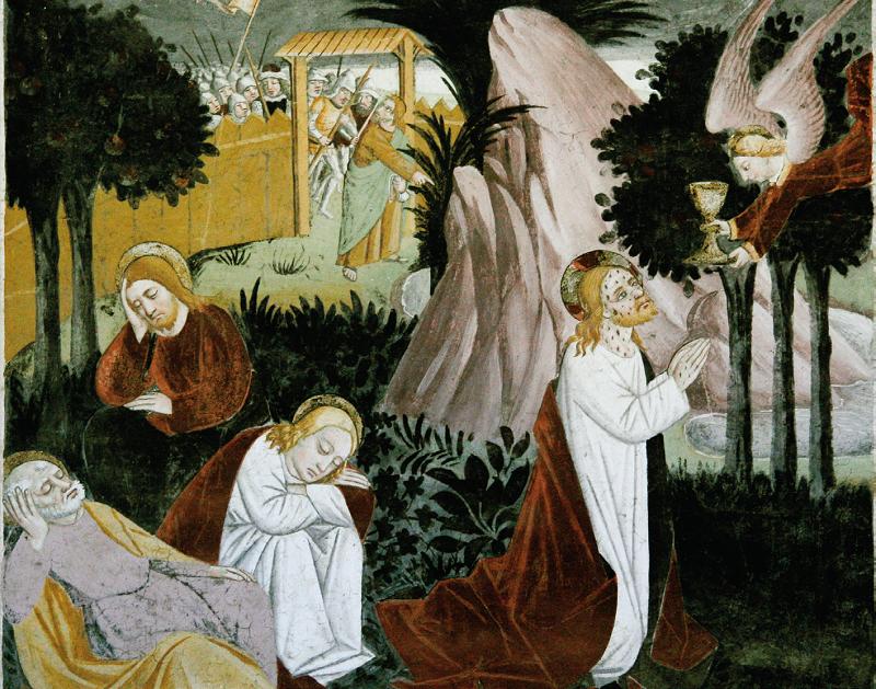 Preghiera nell'Orto degli Ulivi
